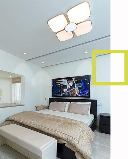 Interior designing of Bedroom